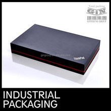 OEM full printed in black gift boxes for pad