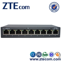 Factory Hot Selling 8 port PoE External Ethernet Routing Switch