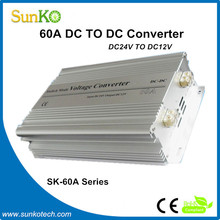 60A step down converters High Quality voltage up converter 60a Good switchable power supply CE RoHS Compliant SunKo Converter