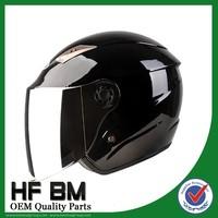 Summer Half Open Face Black White Gray Motorcycle Helmet