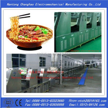 Fried instant noodle making machine and chinese noodle making machine
