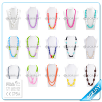 2015 hot selling baby silicone teething silicone jewellery