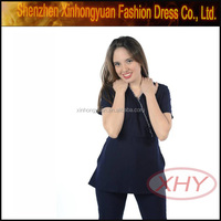 100% polyester day care scrubs for medical scrubs philippines