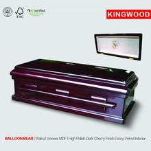 BALLOON BEAR #27 balloons casket china wood pet casket