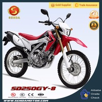 New Super Dirt Bike Chongqing Motorcycle Made in China CRF 250L SD250GY-8