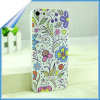 Cheapest super slim cartoon design universal cell phone cover for iphone 5s