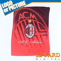 Italy AC Milan Football Team Sport&Travel sport man sweat Absorbent towel Fast Drying house wife dish cloth duster