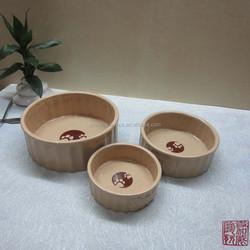 nice design ceramic novelty dog bowls