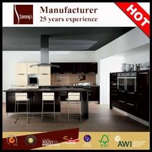 Hot selling aluminium kitchen set design for wet kitchen cabinet for wholesale SK426