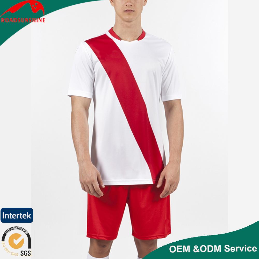2017 yeni toplu tasarım futbol forması ve OEM ile yeni toptan futbol t shirt süblimasyon forması futbol