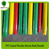 Factory wood pole and pvc coated wooden stick