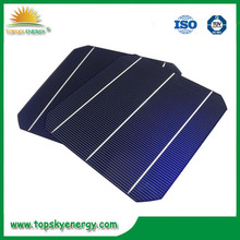 Cheap and high efficiency 4.3- 4.7w mono 6 inch solar cells price for solar panel / photovoltaic solar cells for sale