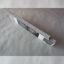 EU-Accuracy class III 4c print football club corporate branded ruler