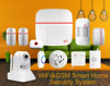 WiFi Internet GSM GPRS SMS Home House Security Alarm System+IP Camera+APP FDL