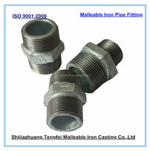 Malleable Iron Pipe Fitting : Hexagon nipples