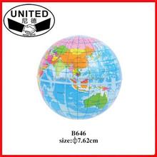 Hot Sell Fashion Printed Globe PU Ball