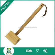 New design wood hammer/wooden kitchen steak hammer/wooden kitchen beef hammer
