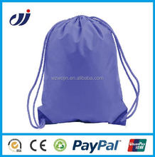Fashion Girl's Striped Polyester Drawstring Backpack Pattern bag online shopping eco promotional bags