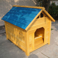 D018 wooden dog kennel wholesale