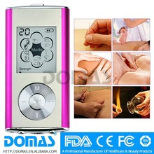 Fashion style tens unit and muscle stimulator SM9128 for body pain treatment