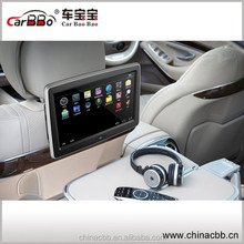 10.1 inch touc screen DH LCD -TFT andriod car headrest monitor with SD/USB/WIFI/bluetooth/MP3 /DVD palyer