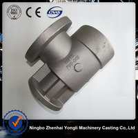 The valve body of Machinery accessories,china supply low price tractor diesel engine exhaust pipe,jd1130exhaust pipe tractor pa