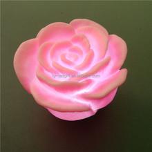 LED colorful small night light rose wedding gift