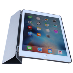 2015 New Arrival and Hot sales PU folded 3 styles tablet smart cover for iPad mini 4