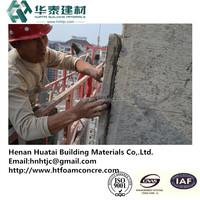 HT foam concrete construction project management