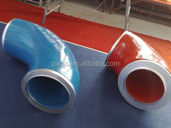 High Quality Rubber Coated Elbow Pipe