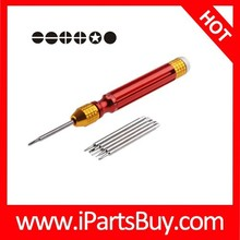 3 in 1 Professional Mini Screwdriver Repair Tool with Keychain for Watch / Mobile Phone / Camera / Glasses