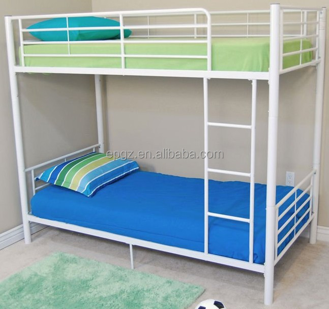 Hot sale used cheap triple bunk bed for sale metal frame for Cheap double deck bed
