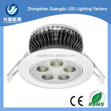 5W led ceiling light bulb lower price high quality