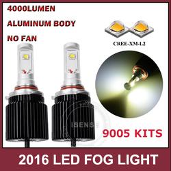 4500K 2000lumen 20W per bulbs car h4 led headlight bulbs kias rio fog lamp