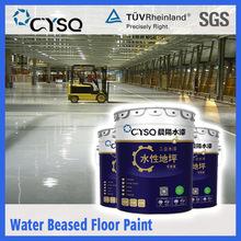 water based resin garage concrete floor paint epoxy coating , acid resistance dust proof liquid epoxy floor coating