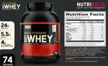 Gold Standard 100% Whey Strawberry 908g Optimum Nutrition