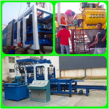 Low investment cement hollow block making machine