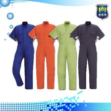 High Quality Custom Cotton Polyester Short Sleeve Working Wear Workwear Uniform