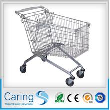 used supermarket trolley wirh four wheels