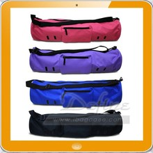 Extra Wide Fit Most Mat Size sturdy Premium Polyester Yoga Mat Bag