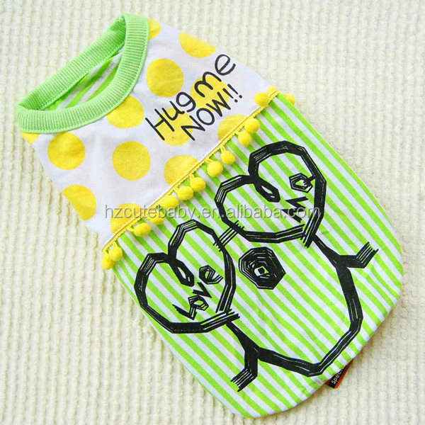 heart smiling wholesale dog clothes / pet clothes / dog apparel