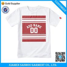 Fashionable Anti-Shrink Best Quality Cheap Wholesale School Oversized Uniform Cotton Spandex Plain T Shirt Men