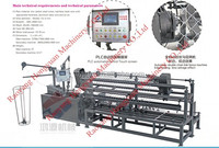 professional Factory sales, ISO9001,best price and quality wire mesh weaving machine /wire mesh fence machine