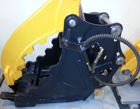 Material Handling Demolition Backhoe Excavator Thumb Grapple Cat Bobcat