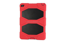 Hot Selling For iPad 2 3 4 Shcokproof & Waterproof Military Heavy Silicon Cover
