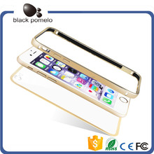 Pure Color Beauty Hybird Bumper Case For Iphone5/6