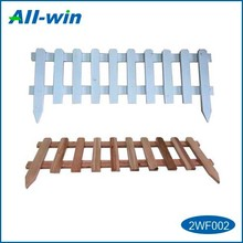 high-quality timber picket garden fence, garden fence made from FSC wood