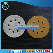 Film sandpaper disc/ Velcro Abrasive For Auto body grit MANUFACTURER