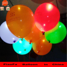 3.2g LED balloon latex wholesale in China
