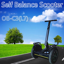 2015 New Self Balance Electric Scooter OB-C3(L7) for Both Adelt and Kids 45 Degree Climb Capability 3.5H Max Time